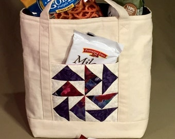 Wine Lover's Lunch Sack