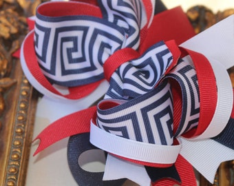 School Uniform Hair Bow