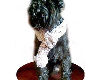 Pink dog scarf dog scarf, dog cowl, dog neckwarmer, dog accessories, small dog clothes, puppy scarf, dog scarves, greyhound cowl,
