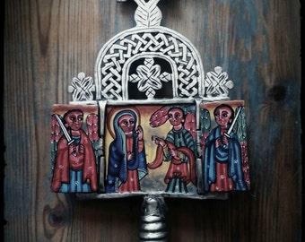 Cruz Procesional Etíope. Pequeña