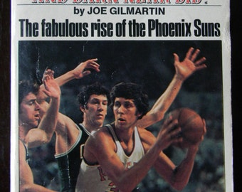 The Little Team That Could And Darn Near Did! By Joe Gilmartin Rise Phoenix Suns 1976 Vintage Paperback
