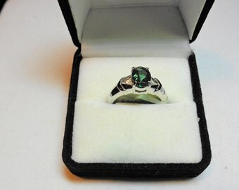 Andesine from Tibet in 14kt.Gold Ring with Diamond Accents.