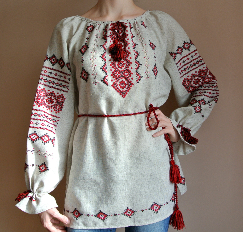Sale traditional vyshyvanka black friday ukrainian blouse