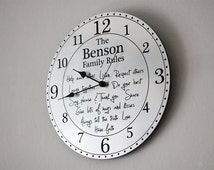Popular Items For Unique Wall Clock On Etsy
