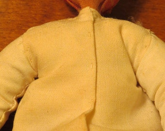 Vintage East Indian (India) Man Doll