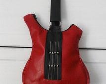 Shaped guitar bag