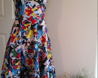 50's style Marvel dress