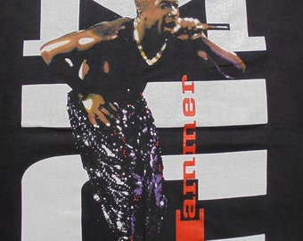 1991 DEADSTOCK MC HAMMER Shirt Size L Bust it Productions New and Unworn