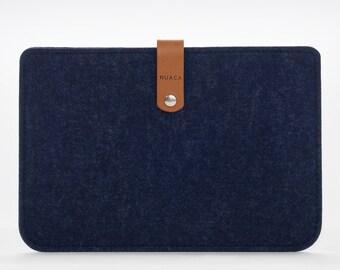 iPad Mini Cover - iPad Mini Case - iPad Mini Leather - Leather Case - iPad Mini Sleeve – Felt Cover