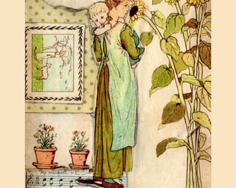 Story Book Collage Sheets – Under The Window – Kate Greenaway