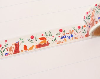 Forest Life Washi Tape