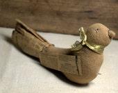 Folk Art Bird * primitive * rustic * handmade