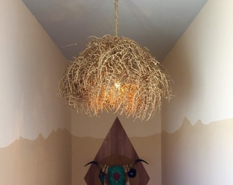 "Medium Rustic Tumbleweed Chandelier 26""-30"" Diameter"