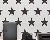 Star Wall Decals . Large Star Decals . Star Stickers . 4, 6, 8, or 10 inch Star Wall Stickers . AP0046NF
