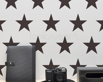 Star Wall Decals . Large Star Decals . Star Stickers . 4, 6, 8 Part 98