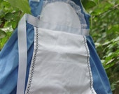Alice in Wonderland Costume with Apron