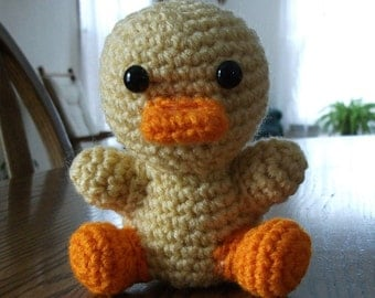 Crochet LeeRoy the Duckie, Made to Order