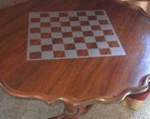 Checker board / Chess board / 1 color / single color / application / vinyl decal / game board / game play / chess board / king queen