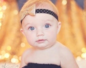 Gold Baby Girl Headband - Baby Headband - Baby Girl  - Newborn Headband - Headbands - Baby Bow Headband - Gold Headband - Headbands for Baby