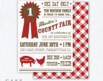 County Fair Party Invitation Printable