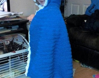Child's Hooded Cloak Pattern