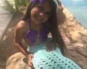 Little mermaid, Mermaid, Mermaid Costume, Baby Costume, Photo Prop