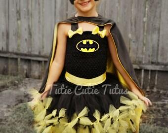 Batman/ Batgirl Tutu Dress Costume