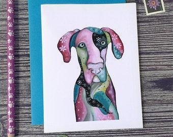 Animal Birthday Card, Great Dane Birthday Card, Dog Birthday Card, Animal Cards, Birthday Greeting Cards, Funny Cards, Animal Charm