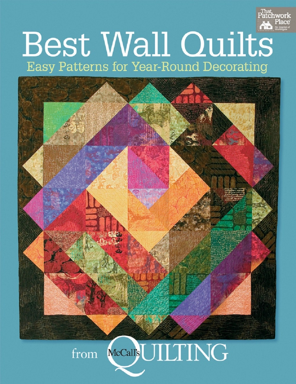 Quilt book sale best wall quilts by mccall 39 s quilting for Patchwork quilt book