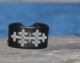 Sami bracelet   saami armband   AC Design   Viking bracelet   bracelet lapon   sami jewelry   cuff bracelet   swedish lapland bracelet GRAM