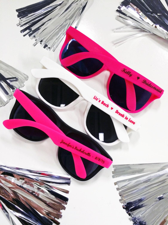 personalized sunglasses wedding favors bachelorette gifts