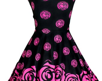UTENA The Revolutionary Girl Rose Seal Crest Skater Dress