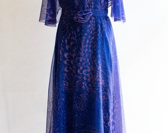 Vintage Dress // Maxi  // 70s