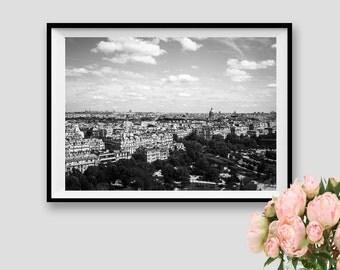 Paris Decor Paris Print Paris Subway Art Paris Panorama Paris Photography Paris Wall Art Paris Instant Download