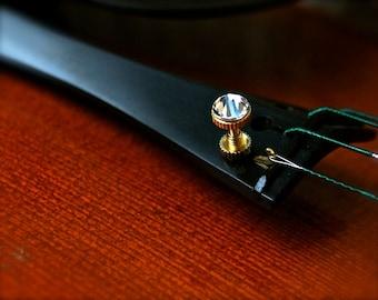 Violin Viola Major Bling Fine Tuner Swarovski Crystal