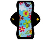 "Reusable Pantyliner (8"" Light - Sky Minky)"