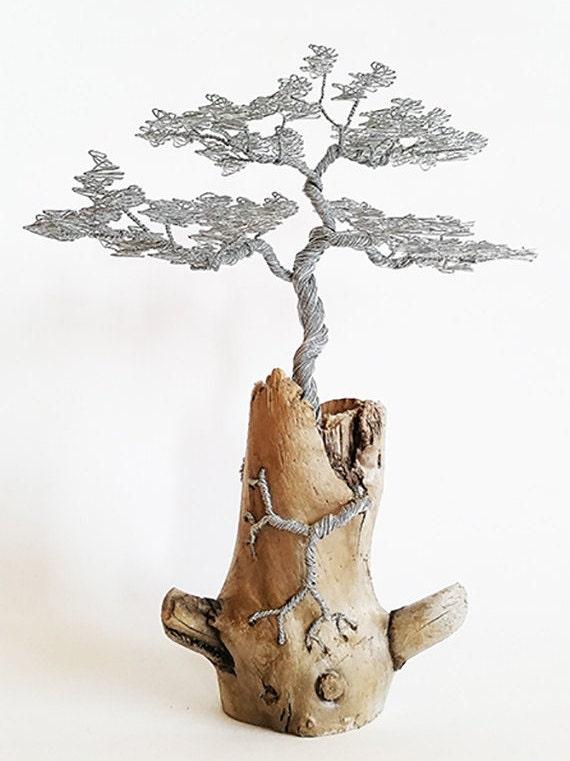 Wire Tree Sculpture Wire Tree Driftwood Sculpture