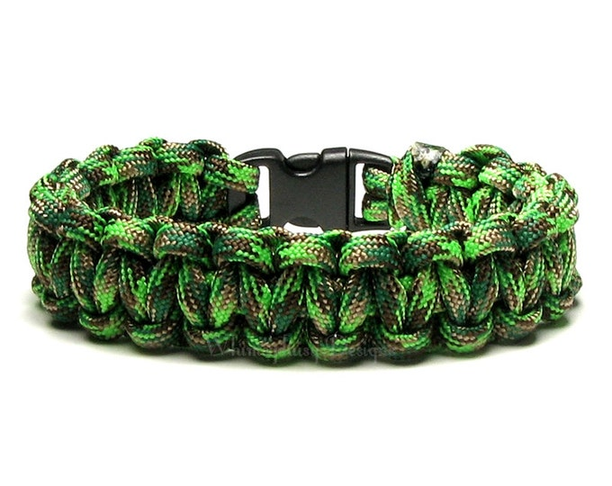 Paracord Bracelet Amazon Survival Accessory Military Gift Men Women Save The Rain Forest Go Green Sustainability Eco Friendly Nature Jewelry
