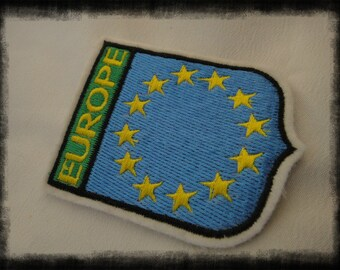 Vintage EUROPE Patch New Used.