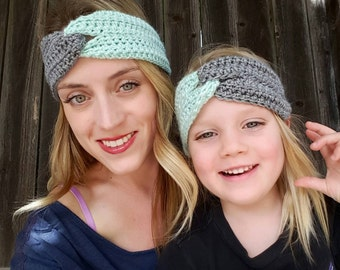 Mommy and Me -  Twist Front Headbands