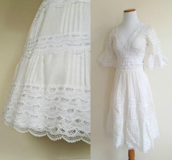 Vintage Mexican Wedding Dress – fashion dresses