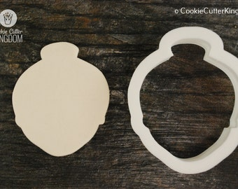 Mrs. Claus Cookie Cutter, Mini and Standard Sizes, 3D Printed