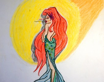 Ariel - the Moderns Collection, THE PRINCESS PROJECT; Signed Limited Edition Reproduction