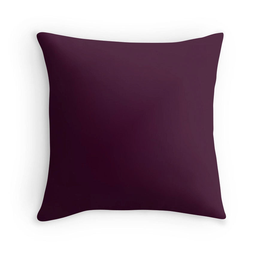 Eggplant Pillow Eggplant Pillow Cover Eggplant Pillow Case