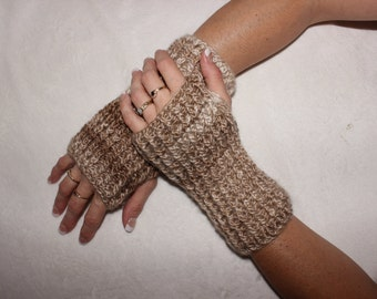 Fingerless gloves, Wrist warmers, Crochet gloves, Arm warmers