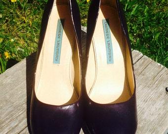 Chinese Laundry Dark Purple Heels Womens Size 8 1/2