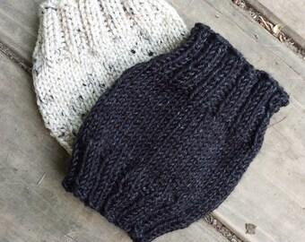 Knit Boot Cuffs - Leg Warmers - Women's Accessories