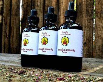 Immaculate Immunity Tincture, Organic Ayurvedic Formula