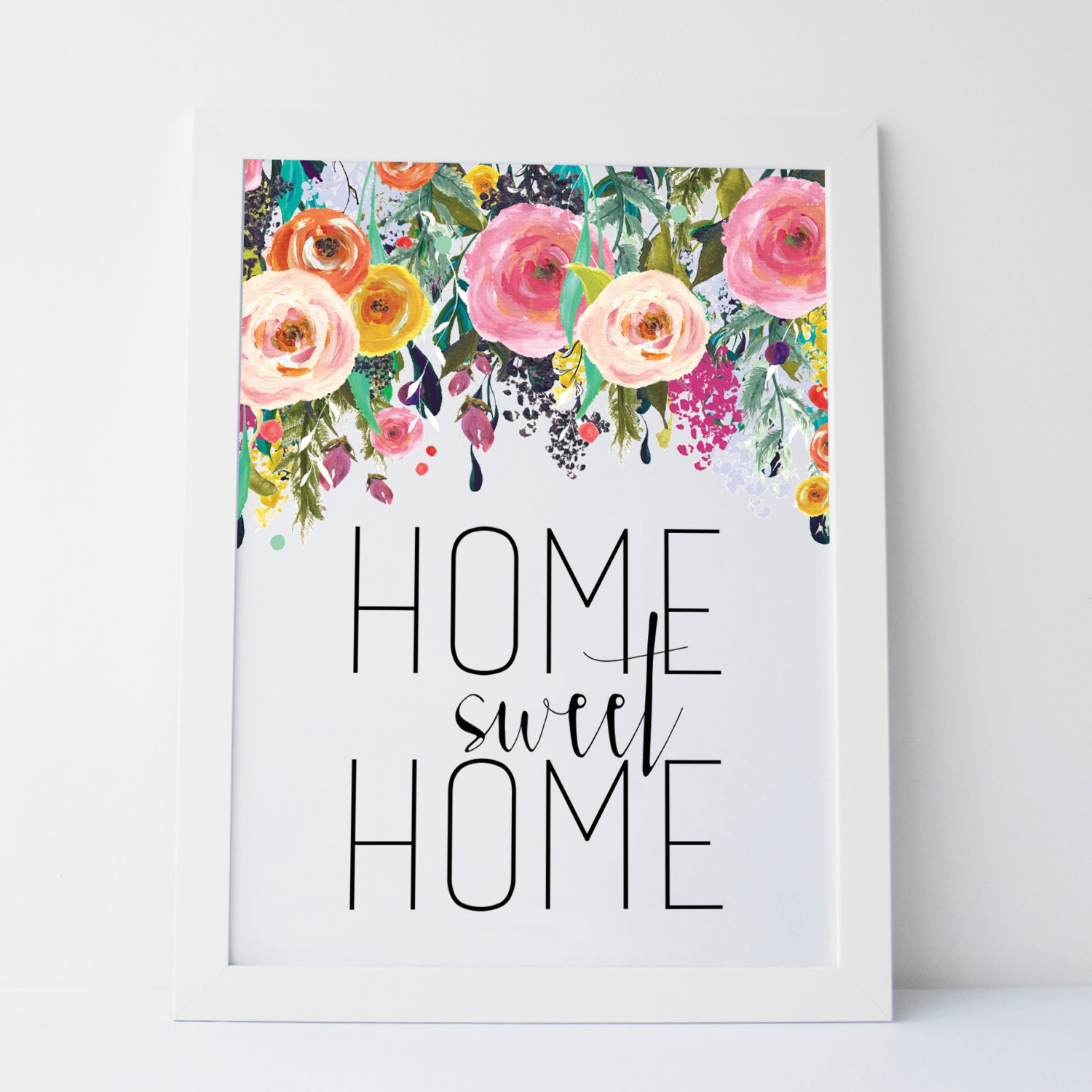 It's just an image of Dramatic Home Sweet Home Printable