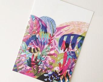 Jungle No. 1 Postcard